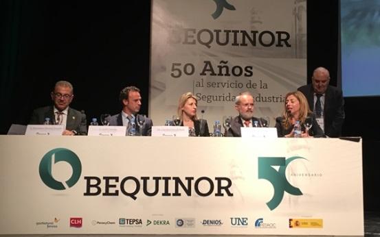 FEDAOC colaboró como patrocinador en el Acto Conmemorativo del 50º Aniversario de BEQUINOR