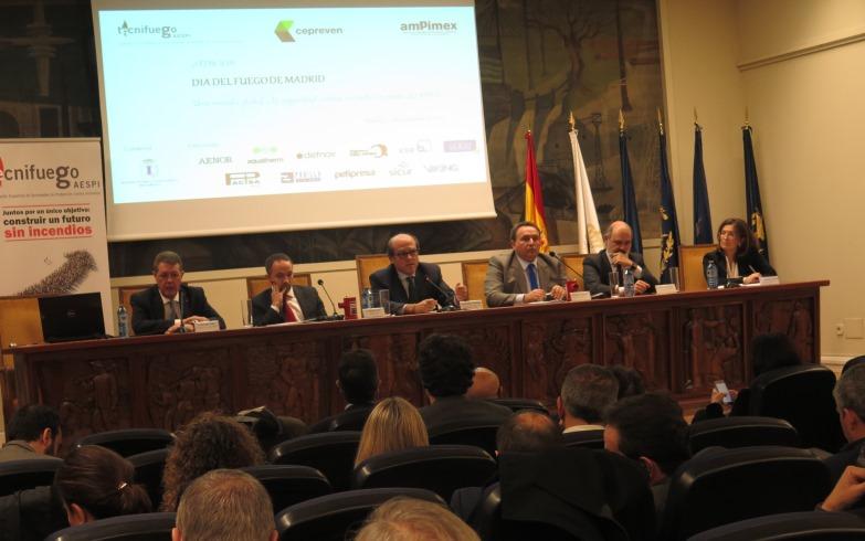 PARTICIPACIÓN DE FEDAOC EN LA 3ª EDICIÓN DEL DÍA DEL FUEGO EN MADRID ORGANIZADA POR TECNIFUEGO-AESPI